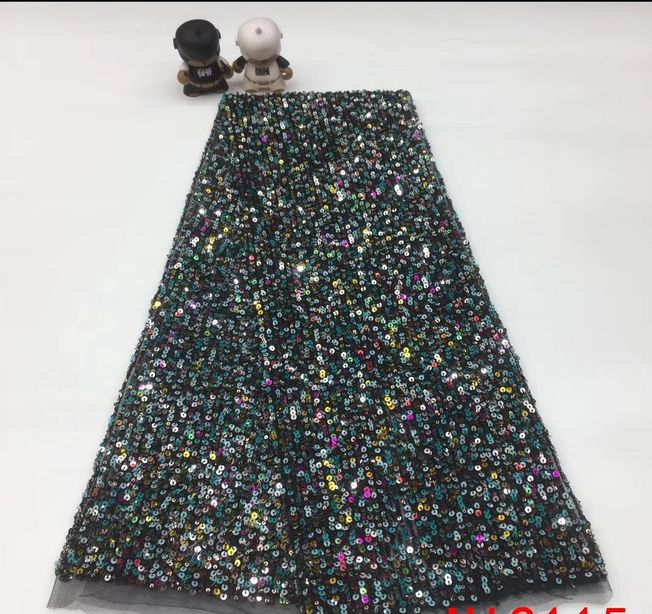 French Tulle Sequins Fabric TU81