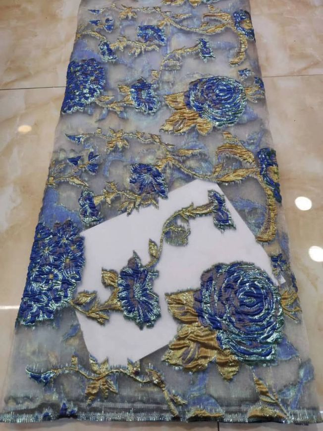 High Quality Floral Jacquard Brocade 206